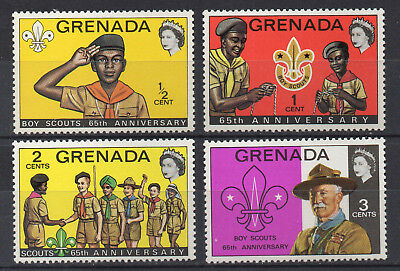 Grenada - boy Scouts Anniversary - MNH Short Set of 4