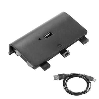 2400mAh Battery Spare Pack with USB Cable for Xbox One Game Controller AC1623