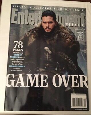 Entertainment Weekly Collectors 2019-HBO Game of Thrones Cover 2 of 16-JON SNOW