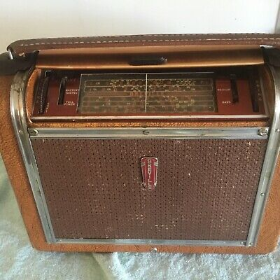 "Very Old """" BREVILLE """" Portable Radio from the 50s in Great Cond"