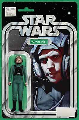Star Wars 65 John Tyler Christopher A-Wing Pilot Action Figure Variant Nm