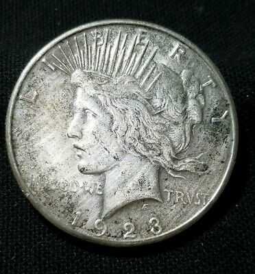 "1923-S Peace Silver Dollar (90% Silver Coin)   "" We Combine Shipping """