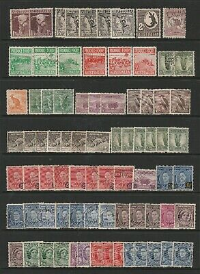 Australia Used Pre Decimal Collection of 150 Stamps. 2 SCANS (2064)