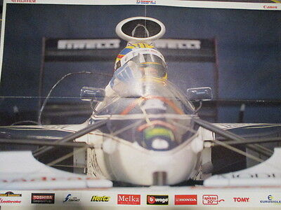 Poster 4 Pages Auto : Brabham Formule 1 : Mark Blundel