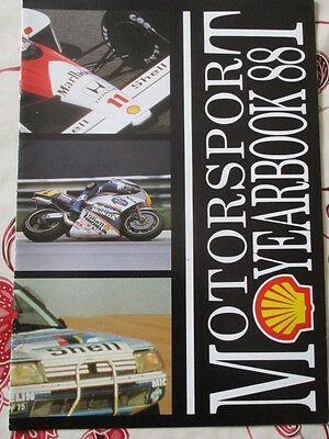 Motorsport Yearbook 1988 Francais Shell.