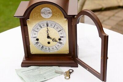 Mantel Mantle Clock / Hermle / Bethnal / Westminster Chimes