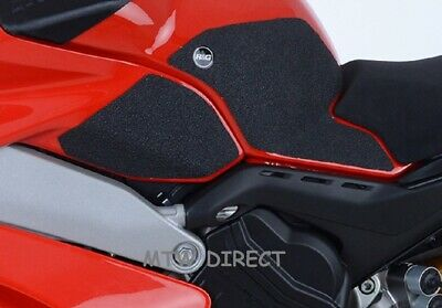 Ducati Panigale V4S (2018-2019) R&G RACING BLACK TANK TRACTION GRIP PADS