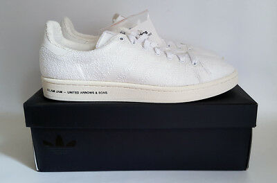 8d14262319374 Adidas Consortium United Arrows Campus. Slam Jam. UK 10. White. BNIB.