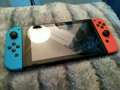 Nintendo Switch|Neon Red/Blue|32GB|WiFi|Exc Cond|Boxed|All Accessories