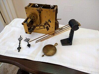 Vintage Westminster clock mechanism, Cleaned oiled and working