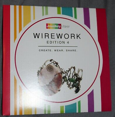 WIREWORK EDITION 4 crafts tuition DVD gemstones beads tools WIRE