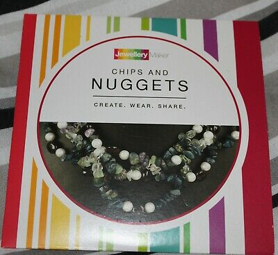 CHIPS AND NUGGETS crafts tuition DVD gemstones beads tools MARK SMITH