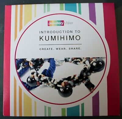 INTRODUCTION TO KUMIHIMO crafts tuition DVD gemstones beads tools