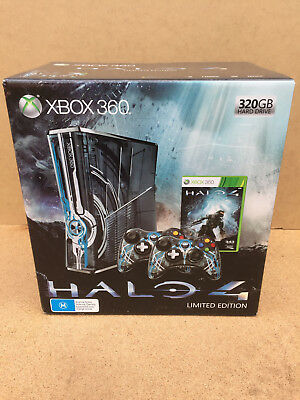 Xbox 360 Halo 4 Limited Edition Console. Brand New, Sealed. Pal Aust