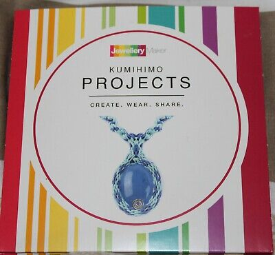 KUMIHIMO PROJECTS crafts tuition DVD gemstones beads tools