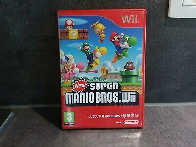 New super mario bros Wii Nintendo très bon état! Complet! Version fr / pal
