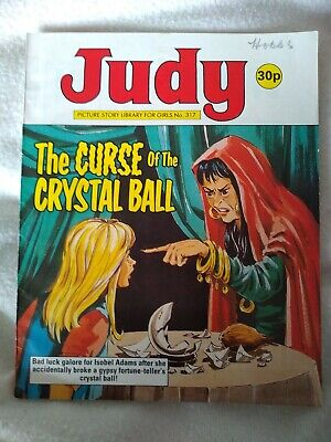 JUDY PICTURE STORY LIBRARY BOOK  The curse of the crystal ball no.317