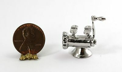 2  Sink Faucet w//handle #2 Dollhouse Miniature Unfinished metal