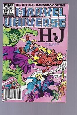 High Grade Canadian Newsstand Edition Marvel Universe #5 $1.25 Price