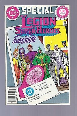 High Grade Canadian Newsstand Edition Legion of Super Heroes Special #1 $1.60
