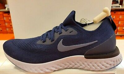 ec0b51466e299 MEN S NIKE EPIC React Flyknit (college navy diffused blue) AQ0067 ...