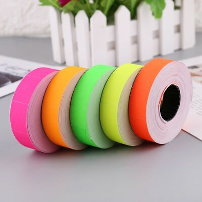 500Pcs//Roll Colorful Price Label Paper Tag Mark Sticker For MX-5500 Labeller MF