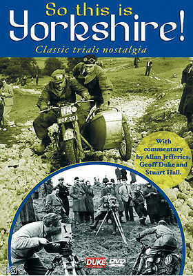 So This is Yorkshire Classic Motorcycle Trials Nostalgia DVD 1950s - 1960s *NEW