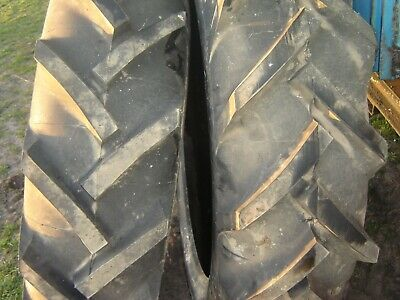 Barum Tractor Tyres X 2      12.4/36   6 Ply  Brand New Never Fitted