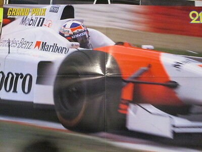 Poster 4 Pages Auto : Formule 1 Coulthard
