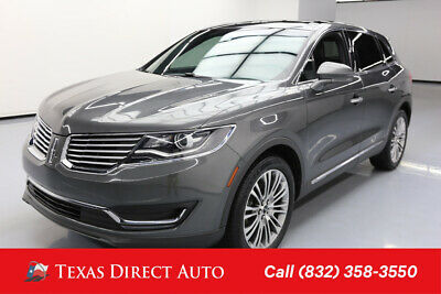 2017 Lincoln MKX Reserve Texas Direct Auto 2017 Reserve Used 3.7L V6 24V Automatic FWD SUV