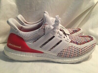 a53058ba70d42 ADIDAS ULTRA BOOST M 2.0 Ultraboost White Multi-Color BB3911 SIZE 9 US