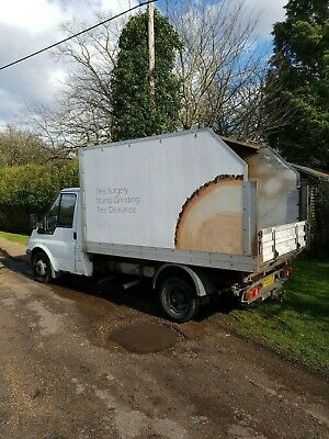 2003 Ford Transit 90 T350 Tipper Spares or Repairs Arborist Tree Surgery Surgeon
