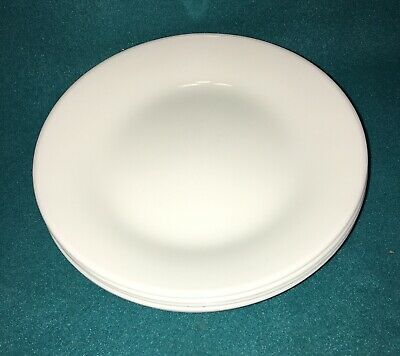 "Corelle Winter Frost White 6 3/4"" Bread & Butter Dessert Plates Set Of 6"
