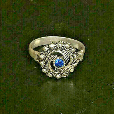 EXTREMELY RARE Medieval Ancient RING PUR SILVER RING artifact VERY Stunning