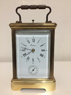 l'epee Repeater Alarm Gong Striking carriage clock