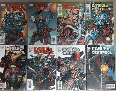 Cable And Deadpool #1-8, Marvel (2004), Fabian Nicieza, X-Men, VF-NM
