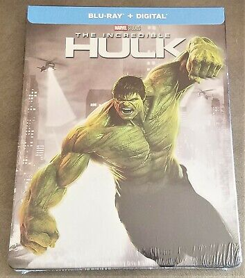 THE INCREDIBLE HULK (2008) Blu-Ray USA Exclusive Limited Edition STEELBOOK