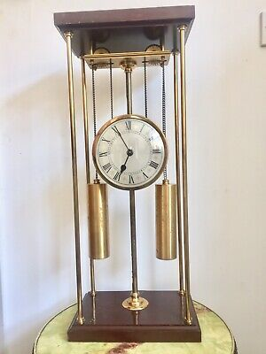 Vintage Thwaites And Reed Double Weight Driven  Gravity Rising Clock