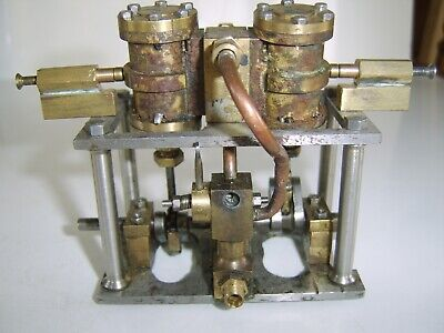 Interesting Model live steam engine part brass