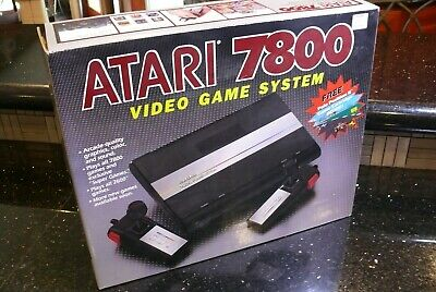 Rare Vintage Atari 7800  Electronic Arcade Video Game Console System✨NEW IN BOX✨
