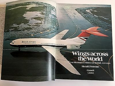British Airways Illustrated Vintage History Book Boac Bea Imperial Airways Ba