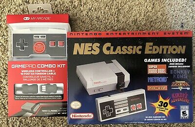 Nintendo Entertainment System: NES Classic Edition And Wireless Controller Combo