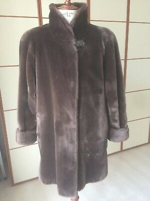 b2d8fa00aa CAPPOTTO GIUBBOTTO DONNA Ten Yards Marrone Chiaro Tg 44 Originale ...