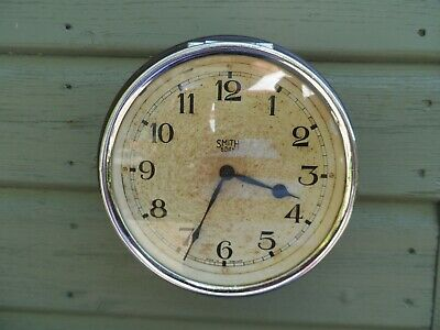 SMITH (SMITHS) Bakelite cased 8 day coach clock with 5.5 inch dial Wall clock