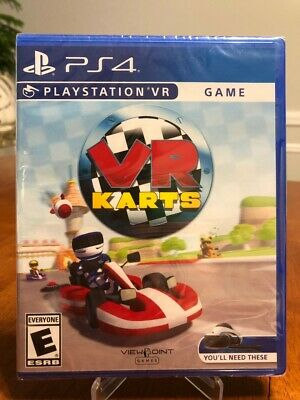 BRAND NEW VR Karts for Sony PlayStation 4 PS4!
