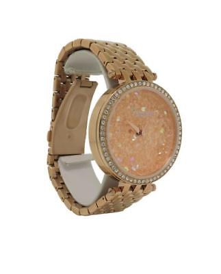 Caravelle New York 44L222 Women's Round Analog Rose Gold Tone Watch
