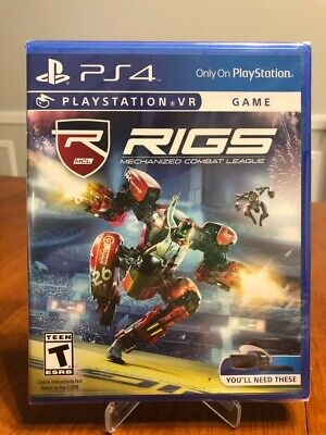 BRAND NEW RIGS Mechanized Combat League for Sony PlayStation 4 PS4!