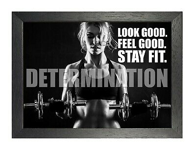 RETRO POSTER.DETERMINATION.1990.MOTIVATIONAL .BODY BUILDING GYM.LGBT