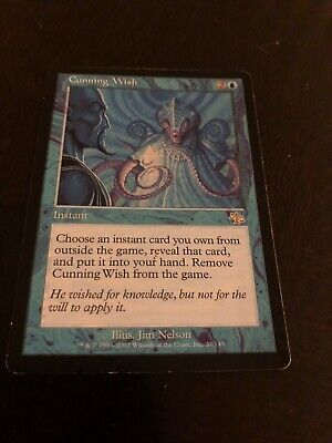 Cunning Wish Excellent MTG JUDGMENT Condition