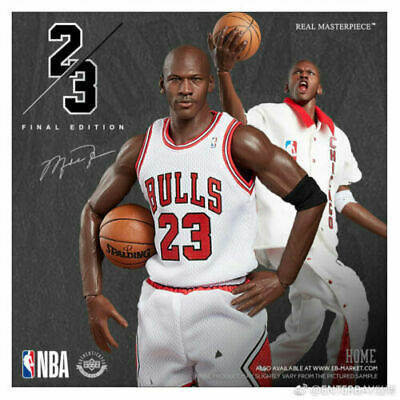 a255c74d95fc ENTERBAY MICHAEL JORDAN Rookie Chicago Bulls  23 Limited Edition 1 6 ...